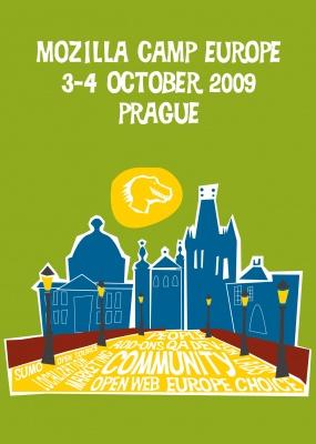 Mozilla Camp Europe 2009 logo